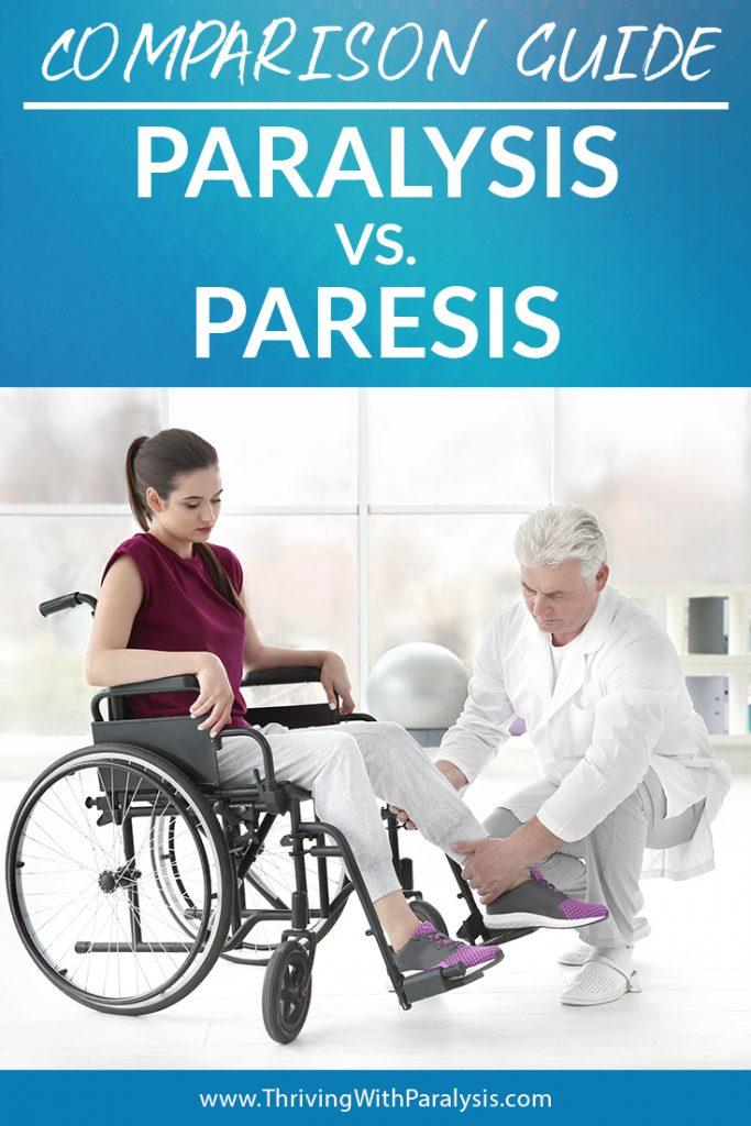 paralysis vs. paresis